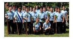 Die Flintenweiber im Gründungsjahr 2007©Holtorfer Schießsport- und Schützenfestverein