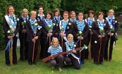 Die Flintenweiber zum 5-jährigen Bestehen im Jahr 2012©Holtorfer Schießsport- und Schützenfestverein