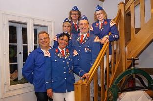Gruppenfoto Spielmannszug Vorstand©Holtorfer Schießsport- und Schützenfestverein