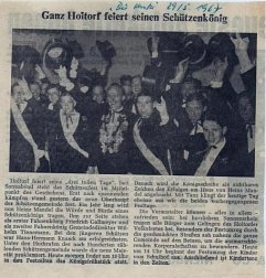 Heinz Mandel©Holtorfer Schießsport- und Schützenfestverein