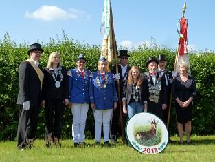 Königshaus 2012©Holtorfer Schießsport- und Schützenfestverein